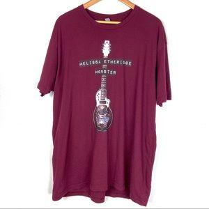 MELISSA ETHERIDGE T Shirt XXL Monster Concert t103